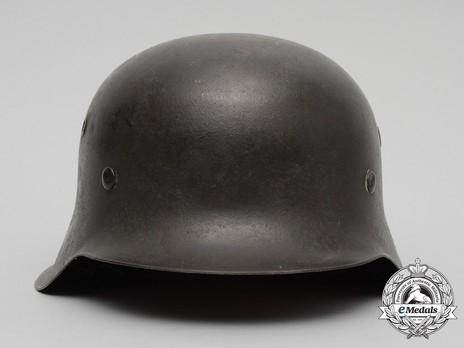 Waffen-SS Single Decal Steel Helmet M42 Front