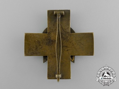 German Social Welfare Decoration, II Class Cross Reverse
