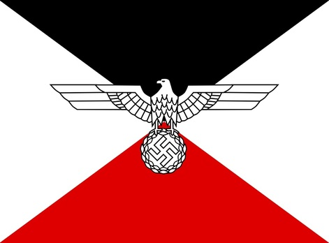 German Army Command Flag for the Armed Forces Plenipotentiary General for Bohemia and Moravia Obverse