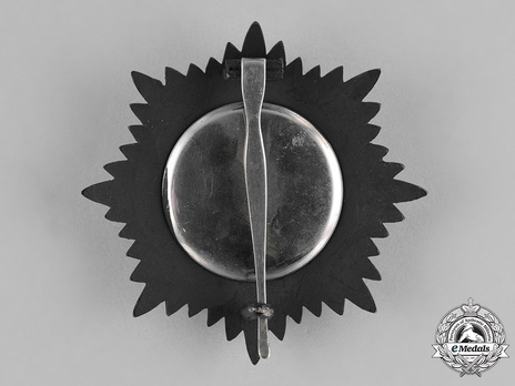 Order of Independence (Nishan-i-Istiqlal), Civil Division, I Class Grand Cordon Breast Star (with blackened metal, c.1927) Reverse