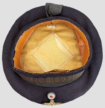 Kriegsmarine Blue Sailor's Cap Interior