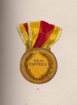 Military Medal, in Gold