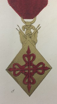 Military Order of Santiago, Knight Cross