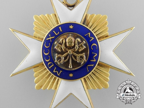 Order of St. Sylvester Grand Officer (with gold) Reverse