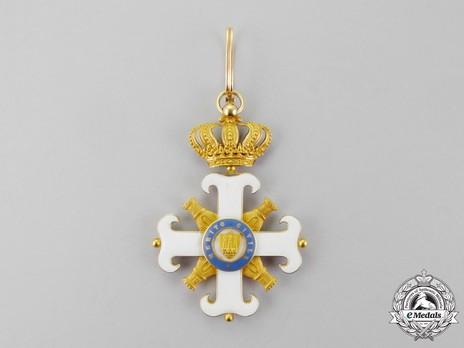 Order of San Marino, Type I, Civil Division, Grand Officer Reverse