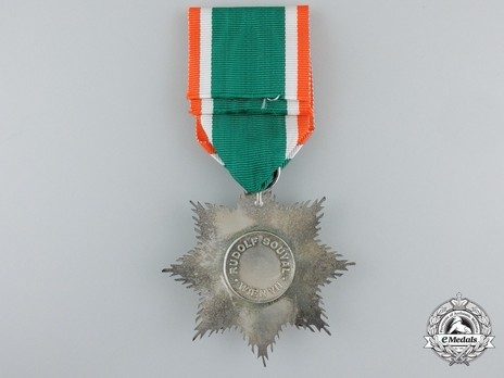 II Class Star with Swords Reverse with Ribbon