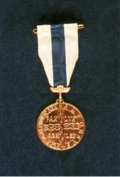 IV Class Medal Obverse