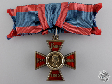 Royal Red Cross, I Class Obverse