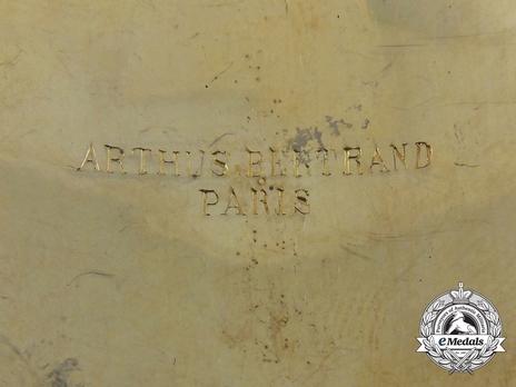 Order of Pahlavi, I Class Grand Collar Breast Star Reverse Detail