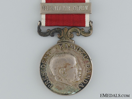 Army Long Service and Good Conduct Medal Obverse
