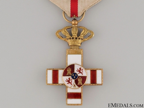 1st Class Cross (red distinction pension) (gold) Obverse