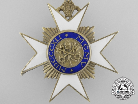 Order of St. Sylvester Commander (with gilt) Reverse