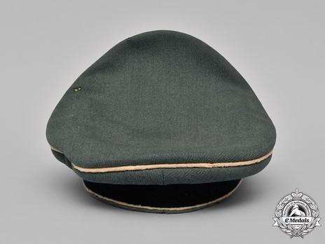 German Army Infantry Officer's Visor Cap Back