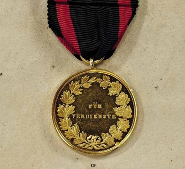 Order of Ludwig, Gold Medal (1850-1889, for merit)