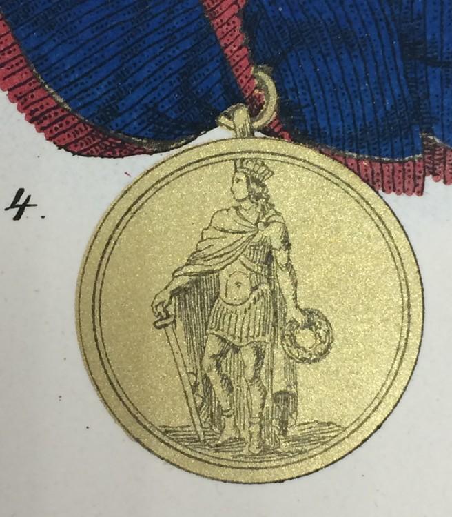 St.+ferd+merit+honour+gold
