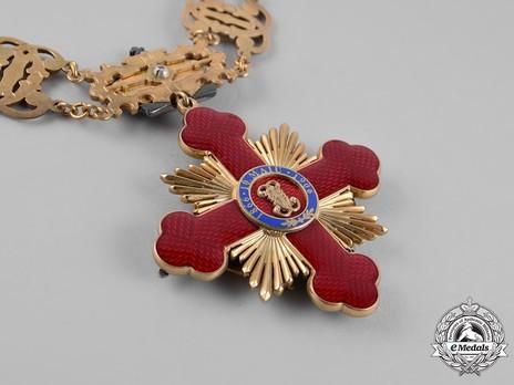 Order of Carol I, Collar Reverse