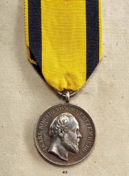 Military Merit Medal, Type IV, in Silver