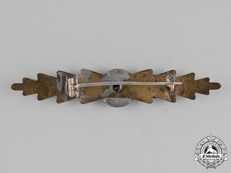 Naval Front Clasp (in brass) Reverse