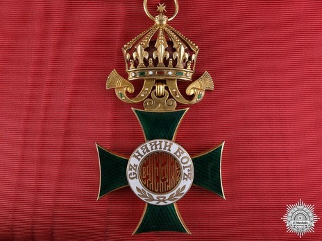 Order of St. Alexander, Type II, Civil Division, I Class