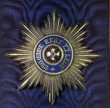 Order of the White Eagle Breast Star Obverse
