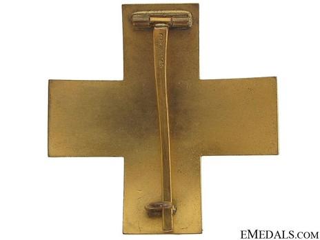 Cross of Honour of the German Red Cross, Type II, Merit Cross Reverse