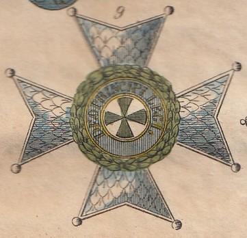 Order of St. Joachim, Grand Commander Breast Star (in gold)