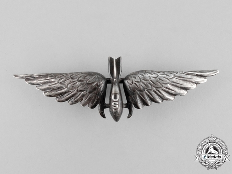 Air Force Bombardier Wings, Type I Wings Obverse