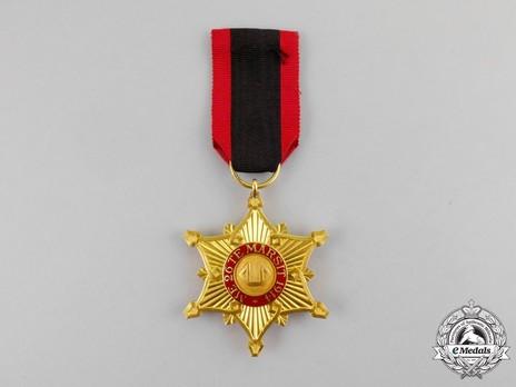 Order of the Black Eagle, Officer's Cross Reverse