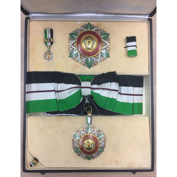 Supreme Order of the Renaissance (Wisam Al Ordani Al Nahda), I Class Grand Cordon