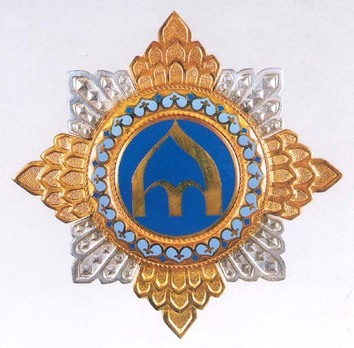 Order of the Prince Yaroslav the Wise, I Class Breast Star (worn on chest) Obverse