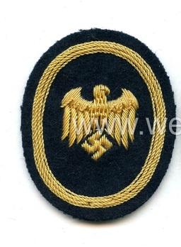 Kriegsmarine Cadet Officials Insignia Obverse