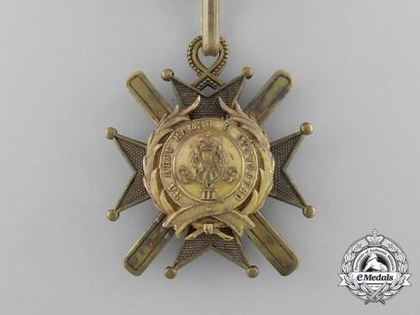 Order of the Cross of Takovo, Civil Division, V Class Obverse