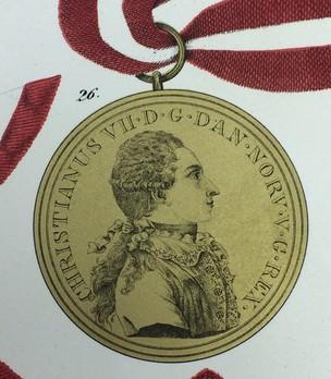 Medal Pro Meritis, Type I, in Gold Obverse