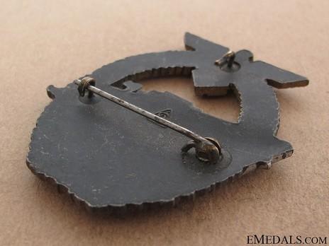 E-Boat War Badge, Type II, by Unknown Maker: AS in Triangle Reverse