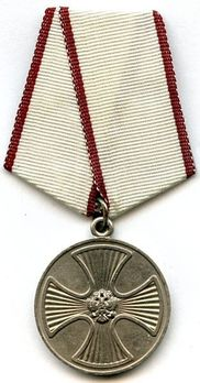Medal for Life-Saving Silver Medal Obverse