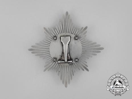 Breast Star (1810-1918) (Silver) Reverse