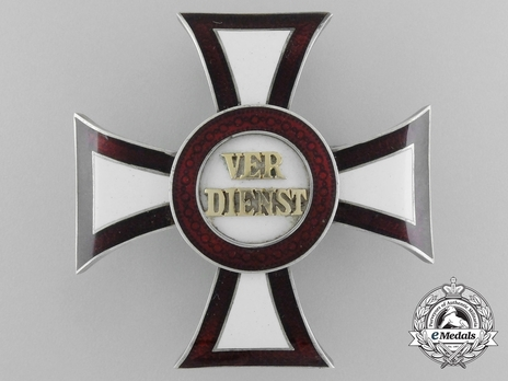 Military Merit Cross, Type II, Civil Division, I Class Cross
