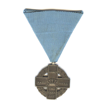 Cross for the War of Independence, in Silver