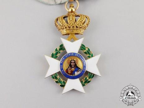 Order of the Redeemer, Type II, Commander Obverse