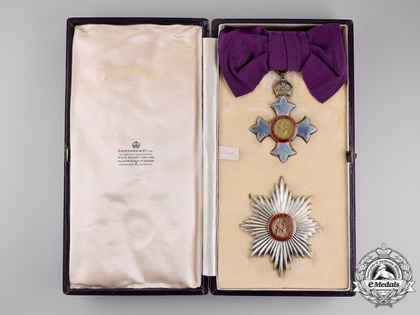Grand Cross (1917-1937) in Case of Issue