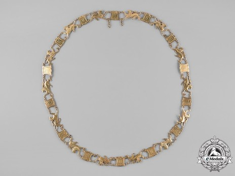 Order of the Golden Lion, Gold Collar (1882)