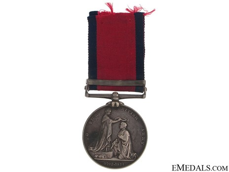 """Silver Medal (with """"TALAVERA"""" clasp) Reverse"""