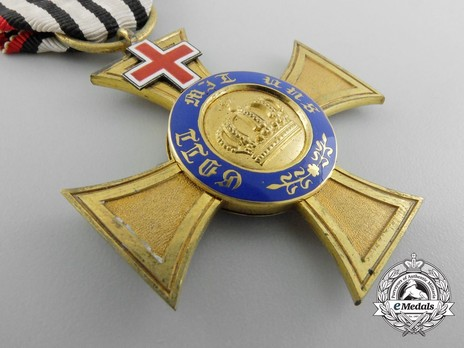 IV Class Cross (with Red Cross) (by Wagner) Obverse