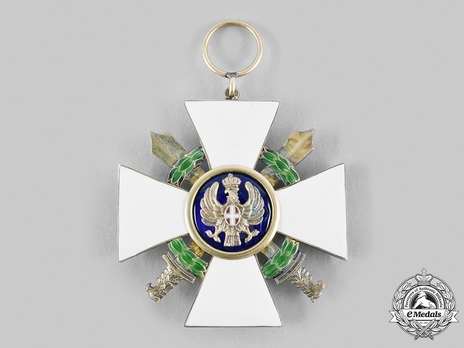 Order of the Roman Eagle, Grand Cross, in Silver (with wreath)