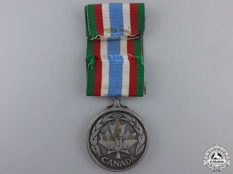 Canadian Peacekeeping Service Medal Reverse