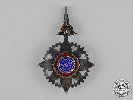 Order of the Crown of Thailand Knight Grand Commander (II Class) Reverse