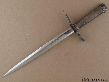 HJ Leader Dagger Obverse