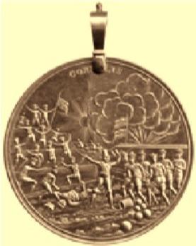 Java Medal, in Gold Obverse