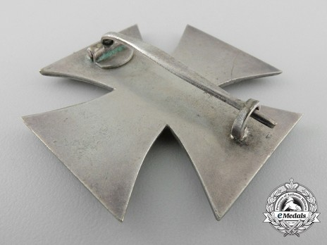 Iron Cross I Class, by Unknown Maker (Round 3) Reverse
