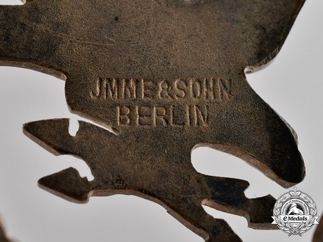 Radio Operator & Air Gunner Badge, by Jmme (in nickel silver) Detail